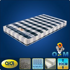 Cotton Fabric Pocket spring Mattress for Living Room Furniture